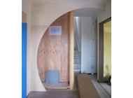 玄関床の間造作