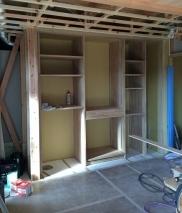キッチン収納造作工事