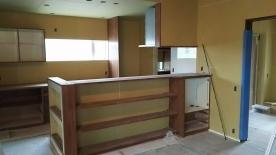 キッチン 造作工事