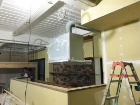 キッチンタイル工事