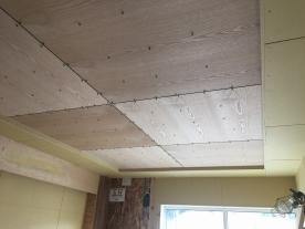 天井貼り工事