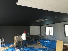 2階塗装工事