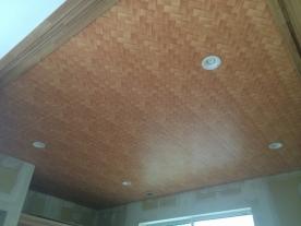 和室天井完成