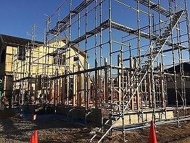 建て方1日目