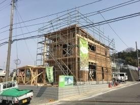 建て方3日目