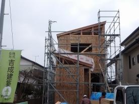 パネル・屋根組立