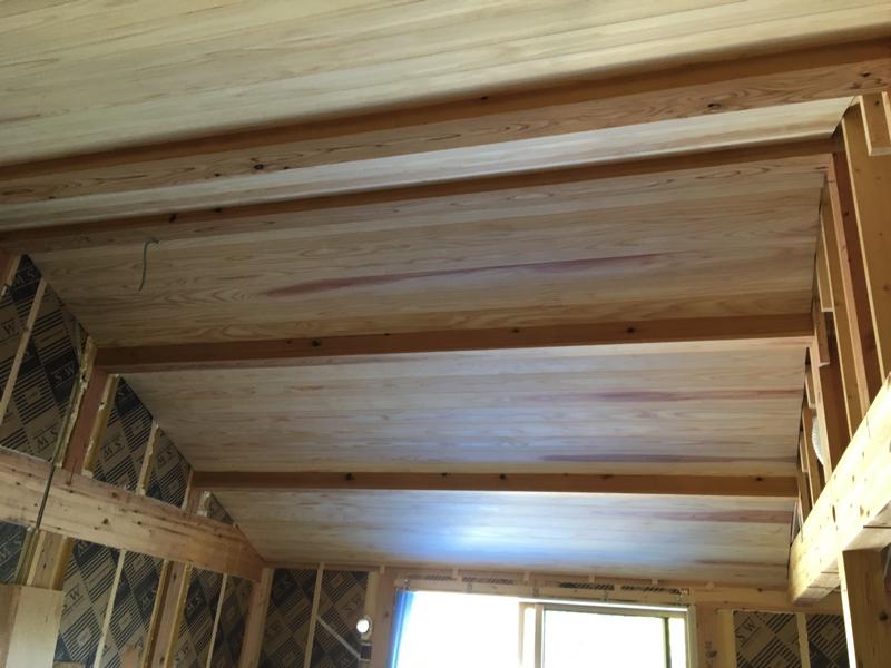 2F天井板塗工事