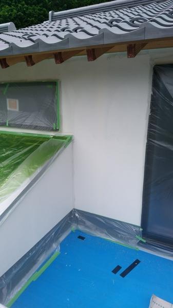 外壁塗り工事
