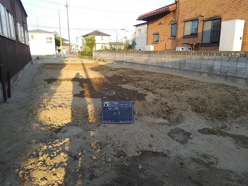 地盤完了工事