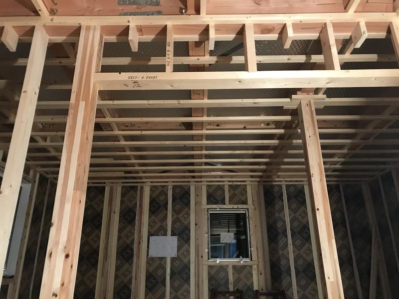 天井下地工事