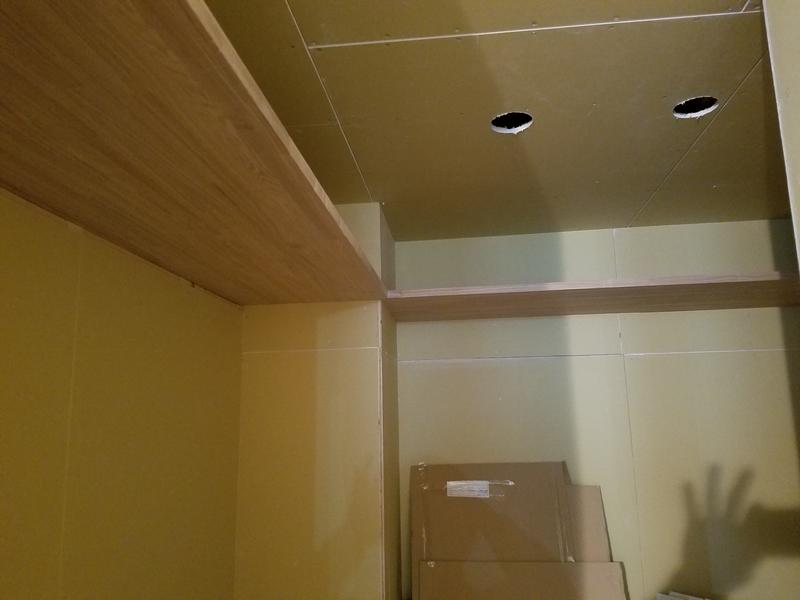 壁・天井ボード張り