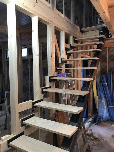 階段取付工事
