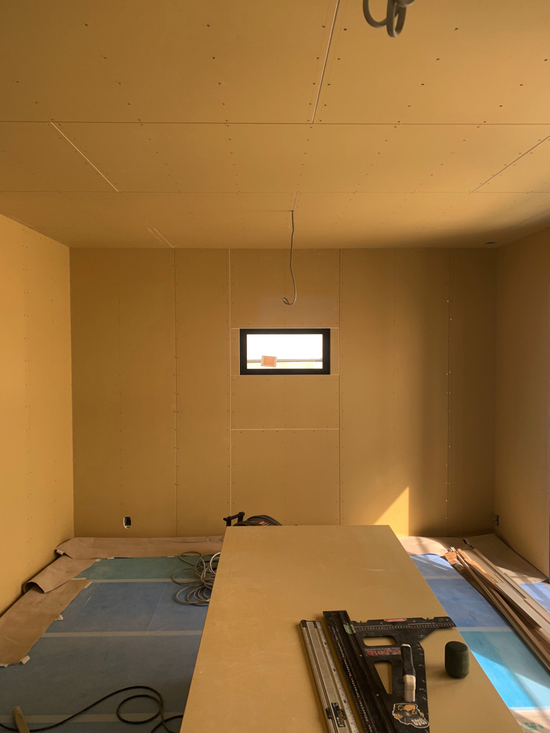 壁・天井ボード貼り