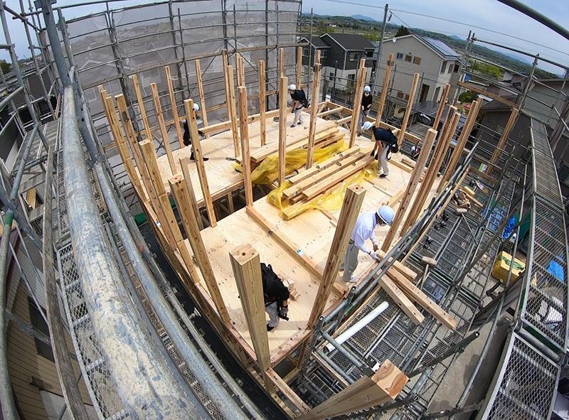 建て方(3)