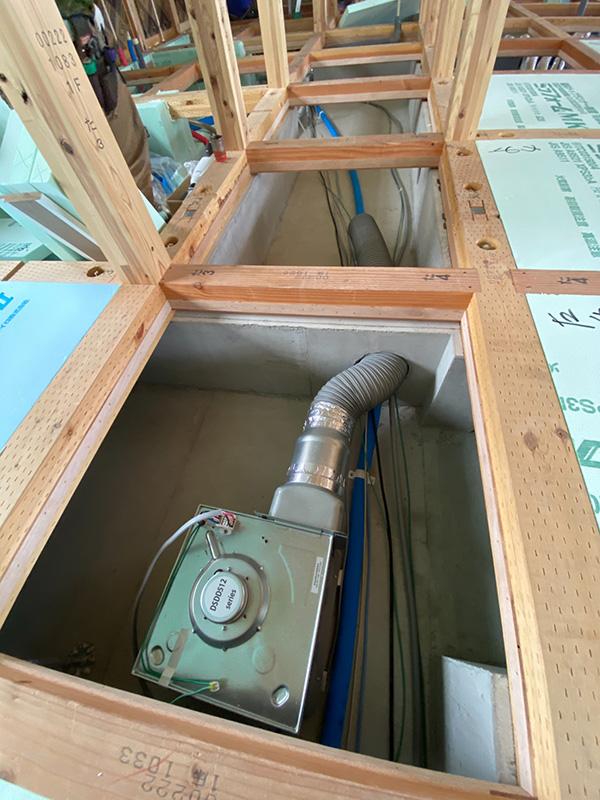 床下換気システム